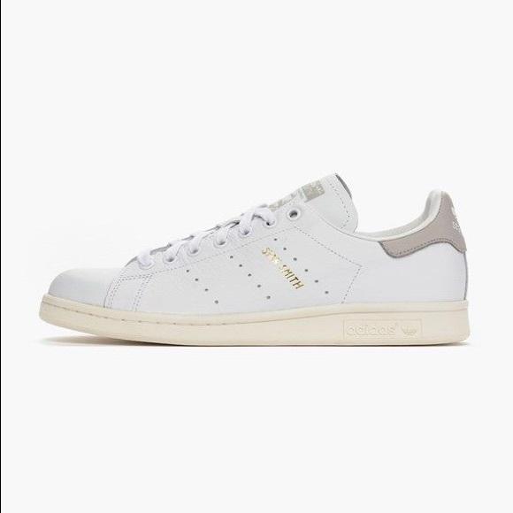 le adidas stan smith. whitegrey s75075 poshmark